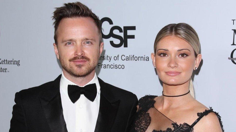 Aaron Paul and wife Lauren