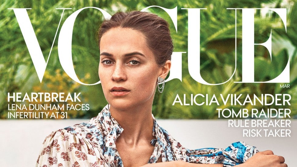 Alicia Vikander Vogue