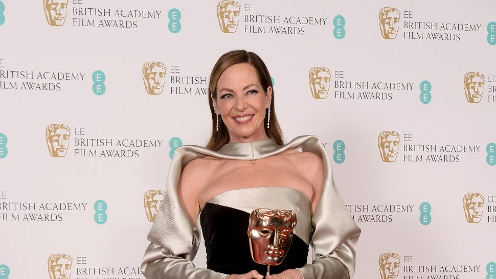 Allison Janney at the 2018 BAFTA Film Awards.