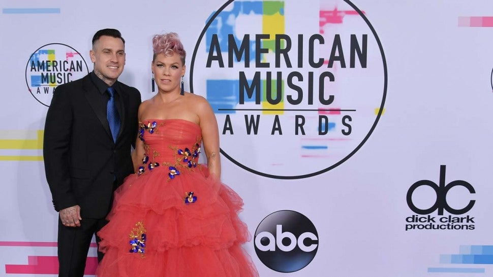 Pink At The  Amas Neilson Barnard Getty Images The American Music Awards