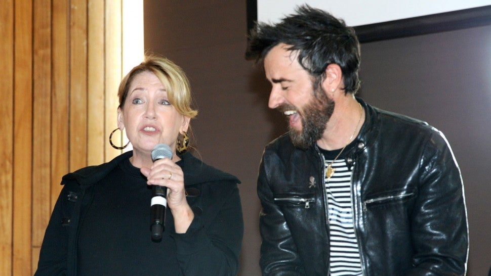 Ann Dowd Justin Theroux