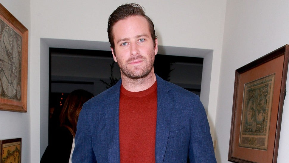 Armie Hammer at Call Me By Your Name event