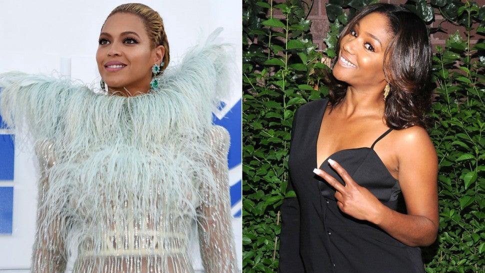 Tiffany Haddish Explains How to Take a Selfie With Beyoncé