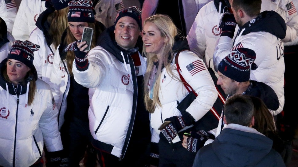 Mikaela Shiffrin jokes about whether Lindsey Vonn's Olympic career is over