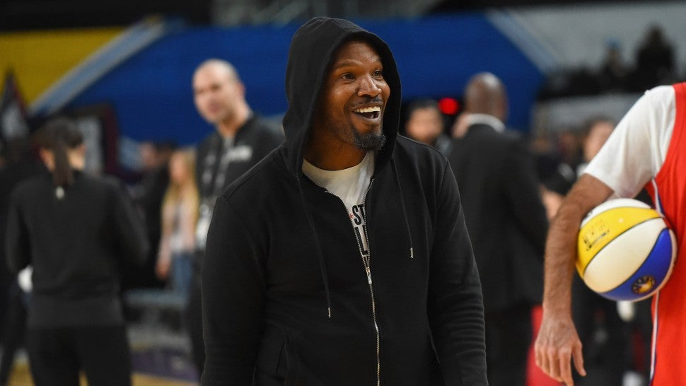 Don't ask Jamie Foxx about Katie Holmes on live TV