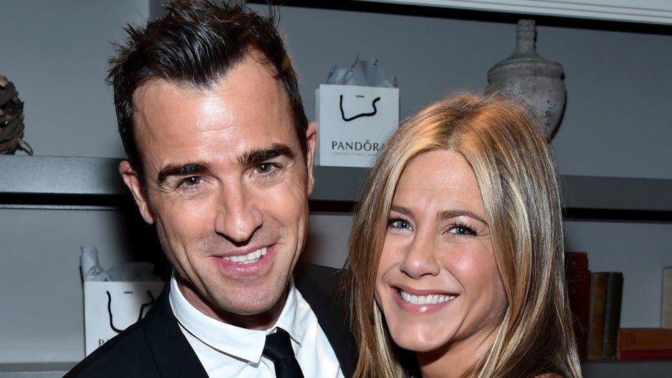 Jennifer Aniston and Justin Theroux 2014
