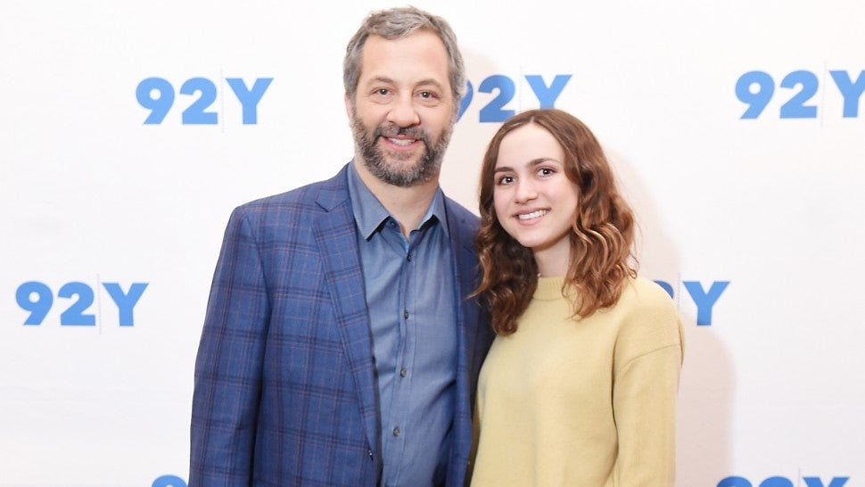 Judd Apatow and daughter Maude