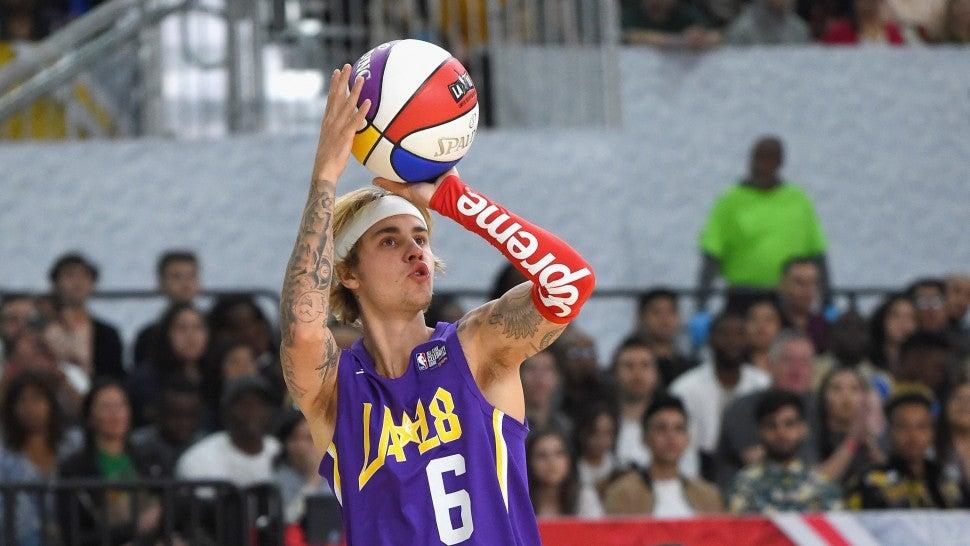 Justin Bieber NBA All Star Game 2018
