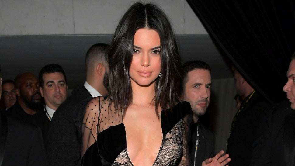Kendall Jenner at InStyle party