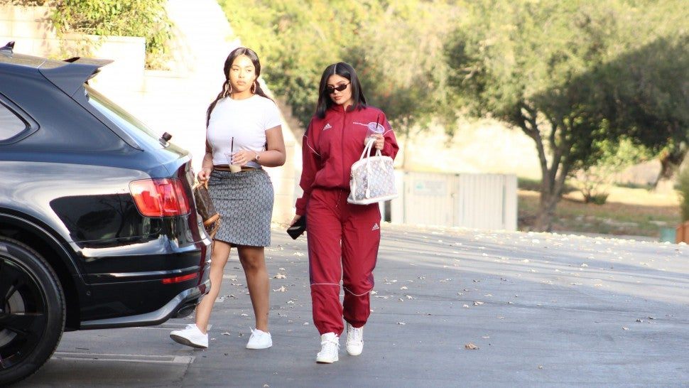 Kylie Jenner Steps Out For The First Time Since GIivng Birth