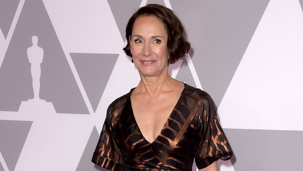 Laurie Metcalf at oscars luncheon