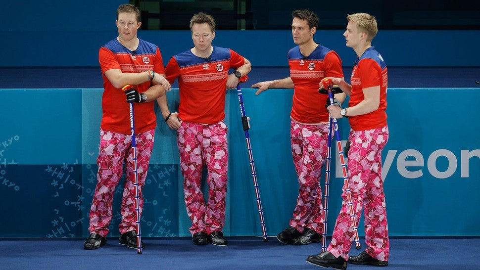 norway curling team at 2018 winter olympics