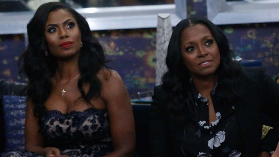 Omarosa and Keshia Knight Pulliam on Celebrity Big Brother