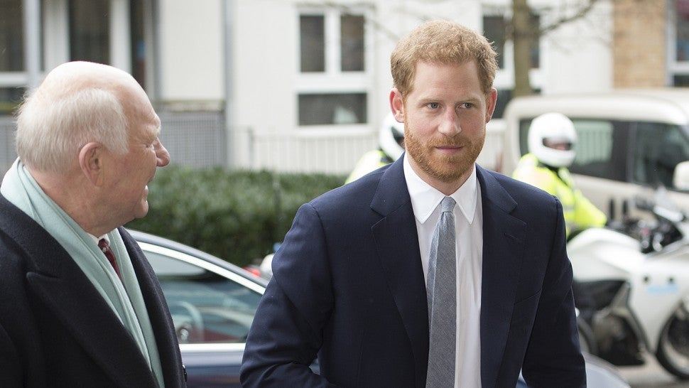 Prince Harry Steps Out Without Meghan Markle to Attend ...