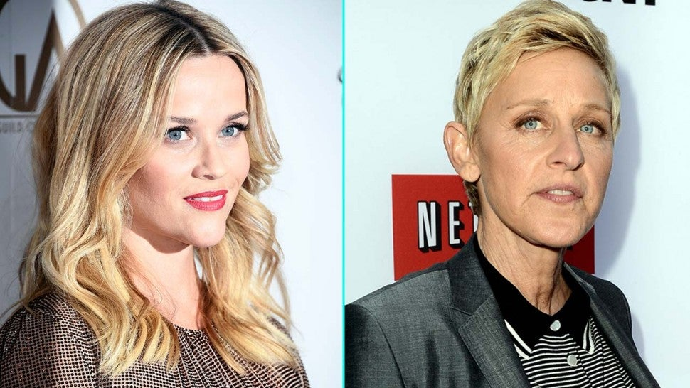 Reese Witherspoon and Ellen DeGeneres