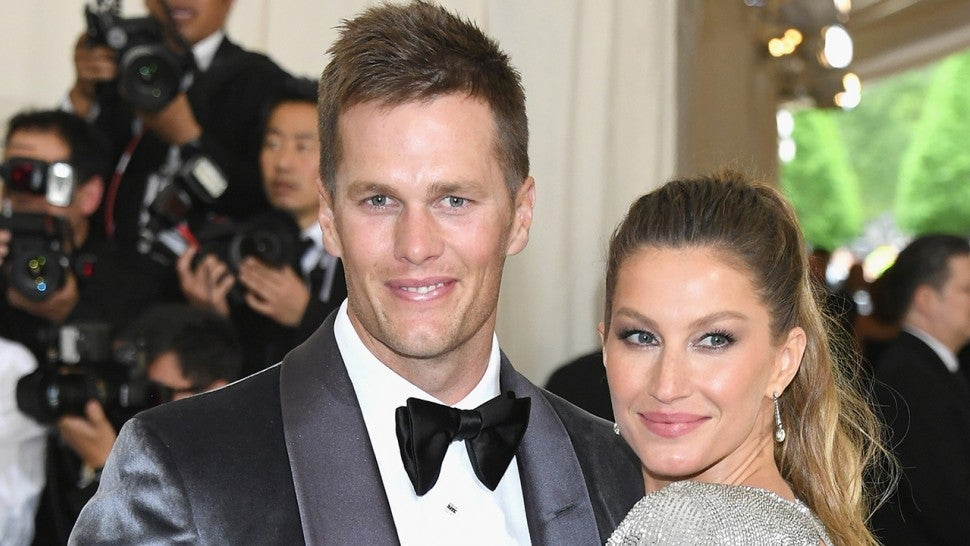 Tom Brady Says Wife Gisele Bundchen And Their Kids Are Getting The Short End Of The Stick In My Life Entertainment Tonight