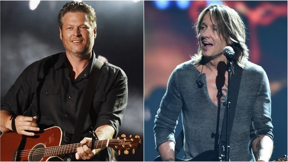 Blake Shelton keith urban