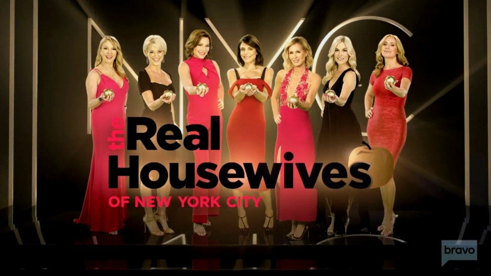 'The Real Housewives of New York City' season 10 cast.
