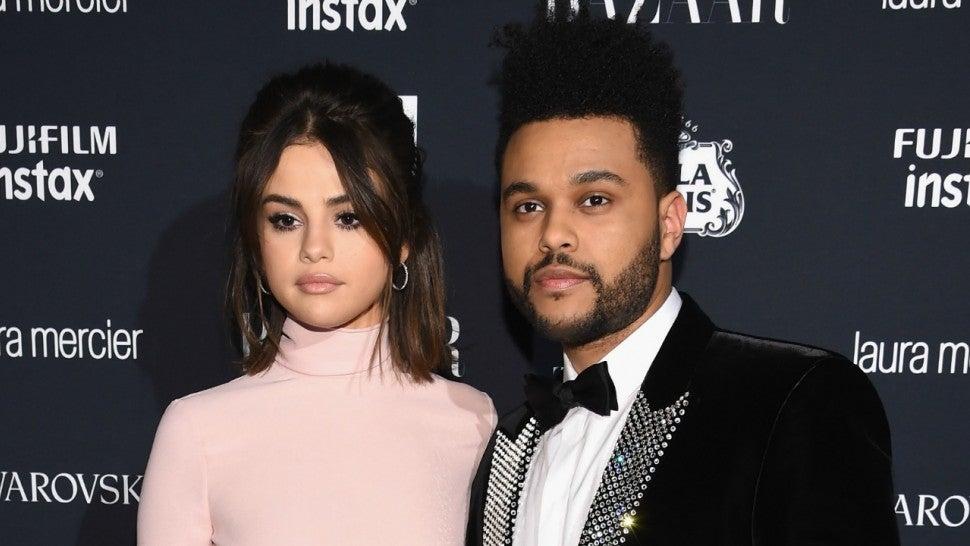 selena gomez and the weeknd in 2017