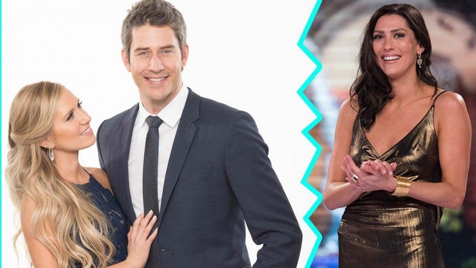 Arie Luyendyk Jr. and Lauren Burnham, and new 'Bachelorette' Becca Kufrin