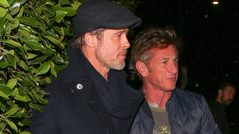Brad Pitt and Sean Penn