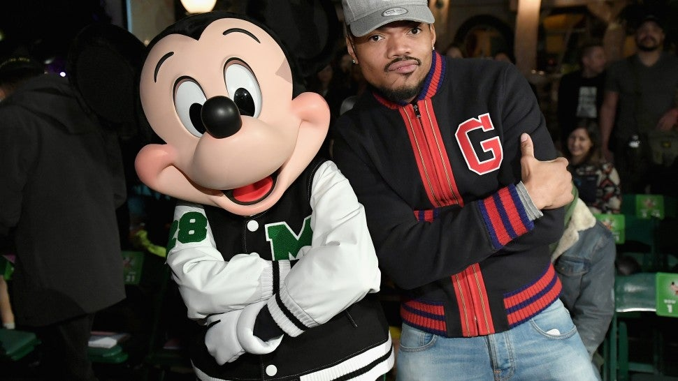 Chance the Rapper attends the Opening Ceremony fashion show on March 7.
