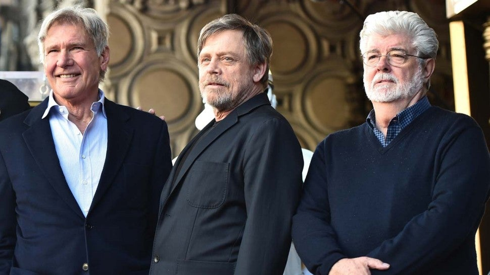 Mark Hamill receives star on Hollywood Walk of Fame