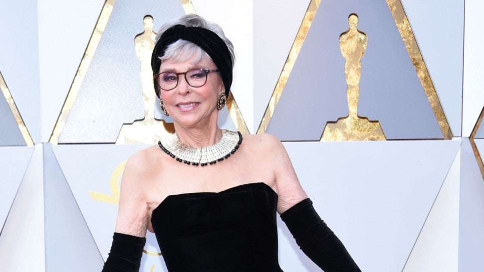 Rita Moreno re-wears dress from 1962 Oscars win