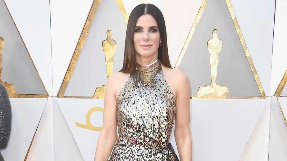 Sandra Bullock at 2018 Oscars
