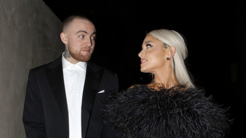 Mac Miller and Ariana Grande at Oscar party