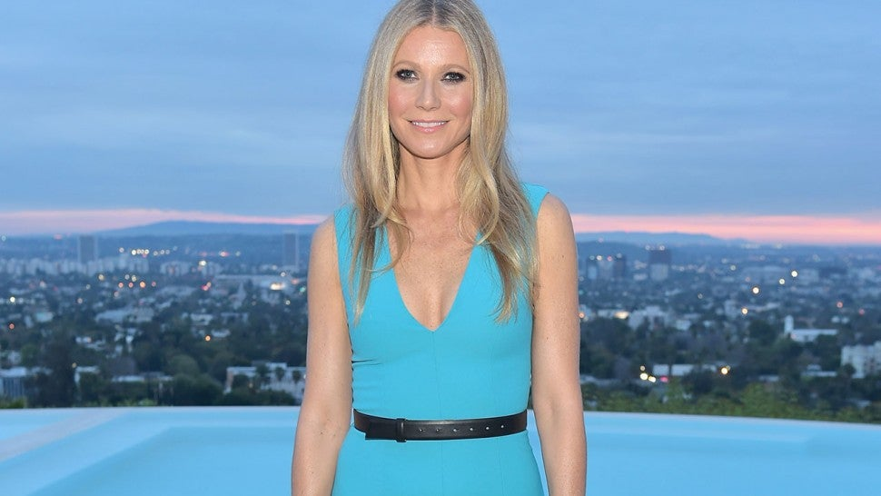 Gwyneth Paltrow at THR and Jimmy Choo event