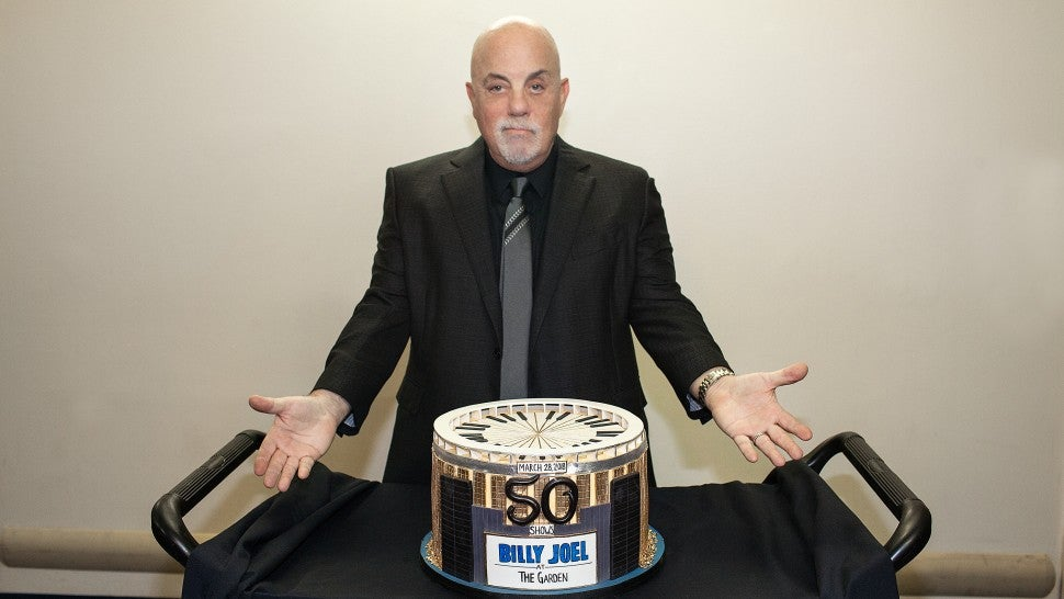 Billy Joel celebrates 50th show at MSG