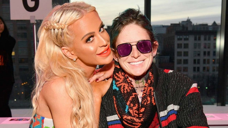 Gigi Gorgeous and girlfriend Nats Getty