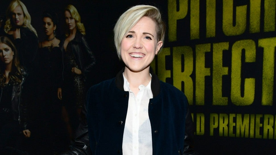 Hannah Hart at Pitch Perfect 3 premiere