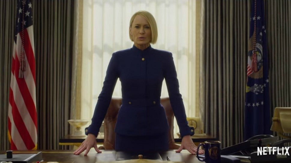 Netflix sets premiere date for final season 'House of Cards'