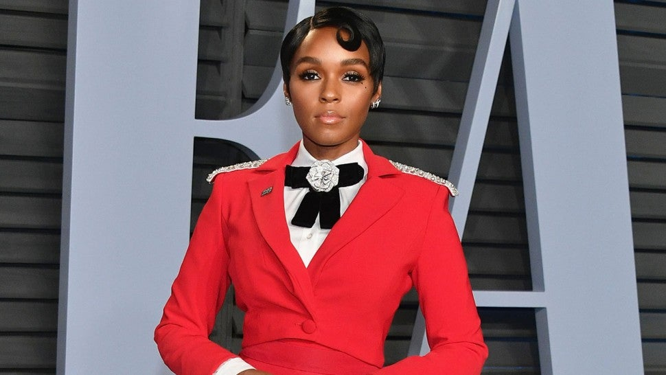Janelle Monae at VF party