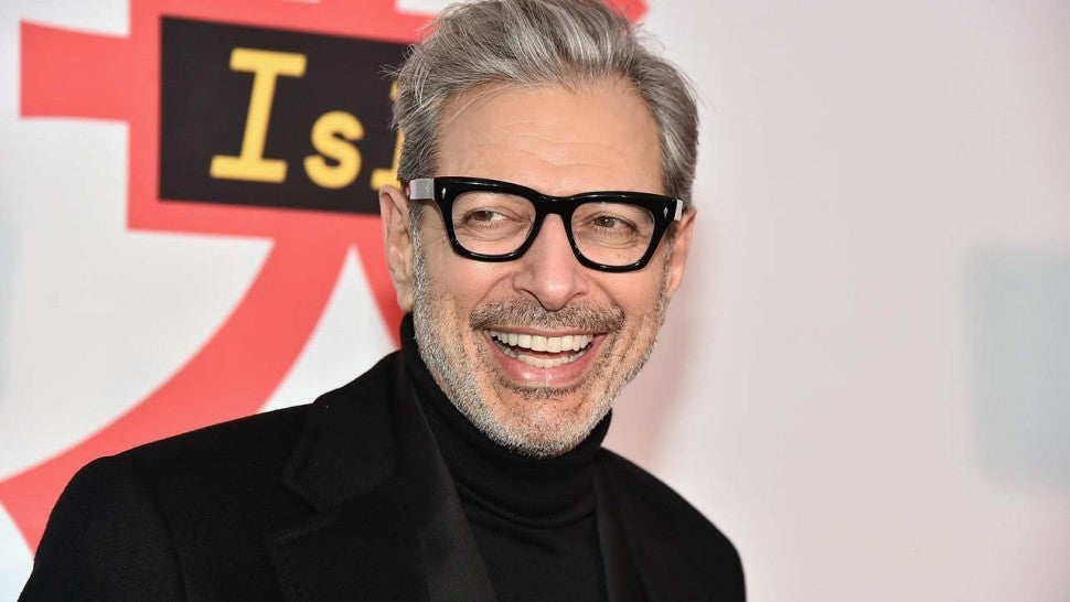 Jeff Goldblum at the NYC premiere of 'Isle of Dogs' on Mar. 20