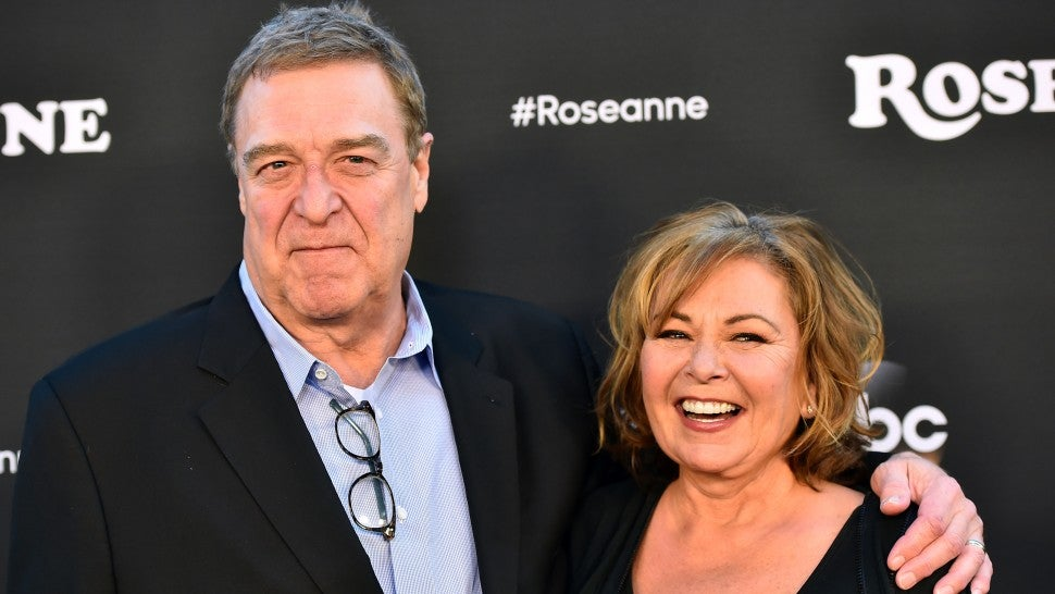 Supporter Roseanne Barr gives cringe-worthy interview to Jimmy Kimmel