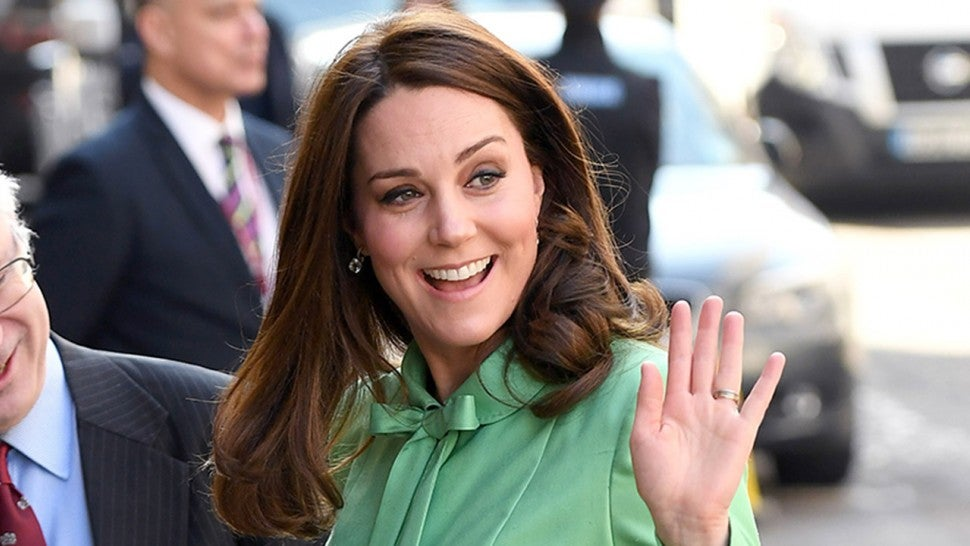 Duchess of Cambridge dons a pinny before going on maternity leave