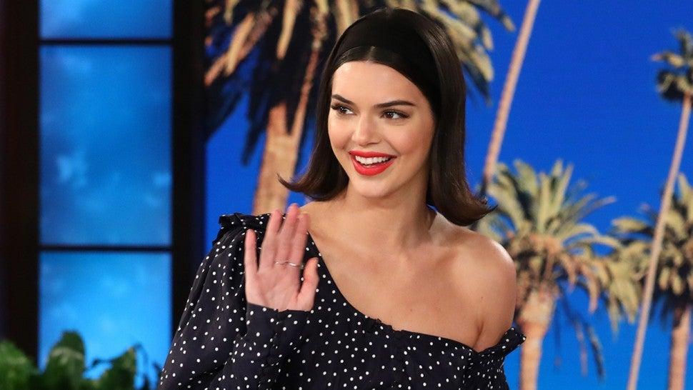 Kendall Jenner Explains Her Inner Lip 'Meow' Tattoo: 'I Was Drunk!'