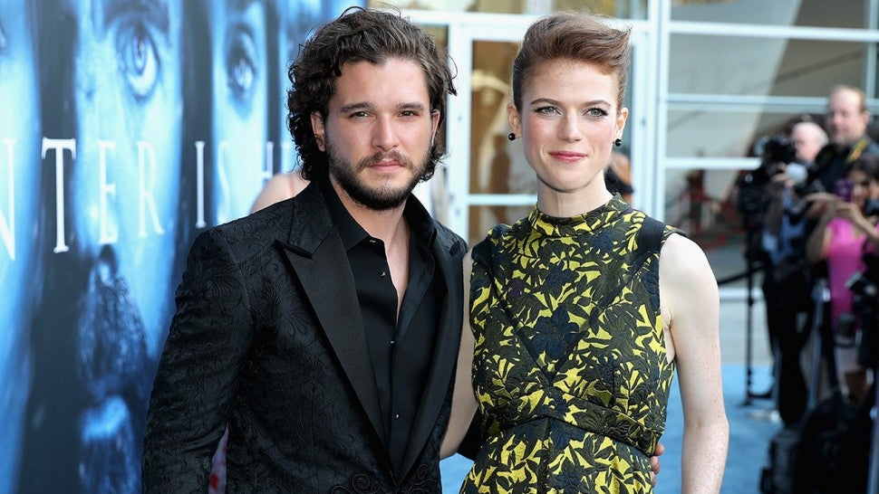 Kit Harington And Rose Leslie Set A Wedding Date Entertainment Tonight