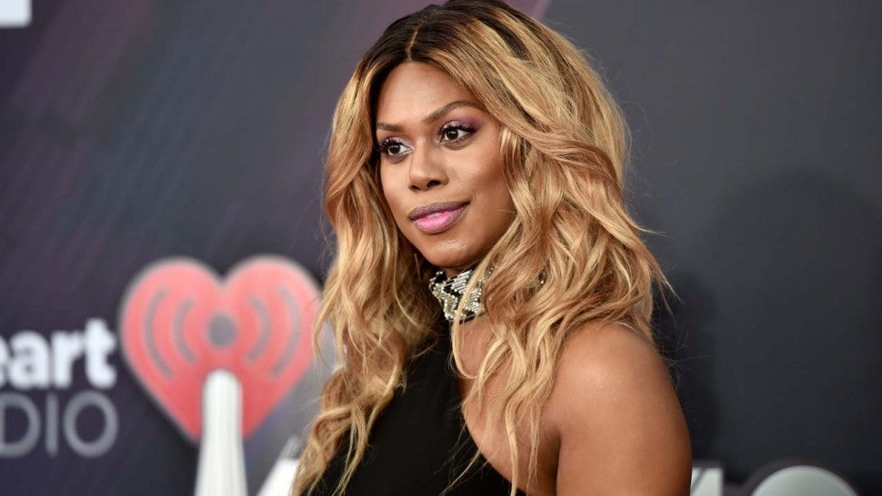 Laverne Cox at the 2018 iHeartRadio Music Awards