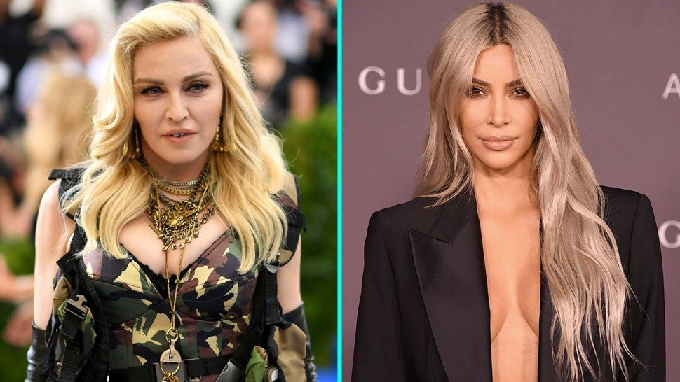 Kim Kardashian and Madonna are BFF goals as they tease beauty collaboration