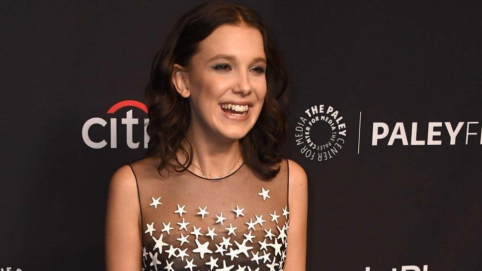 Millie Bobby Brown at the 35th Annual PaleyFest in Hollywood on Mar. 25