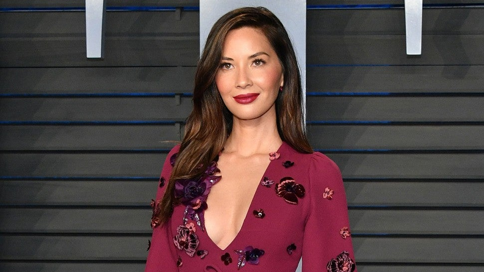 Olivia Munn at Vanity Fair party