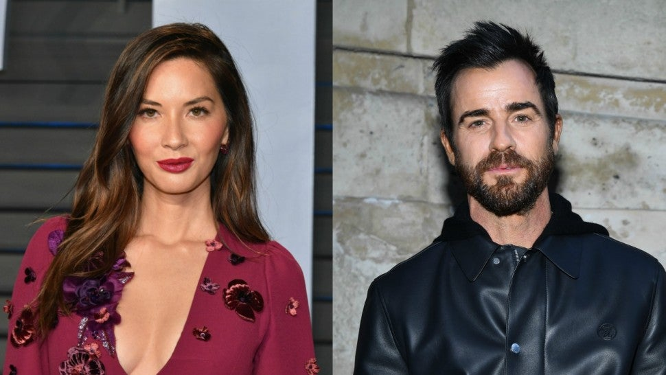 Olivia Munn and Justin theroux