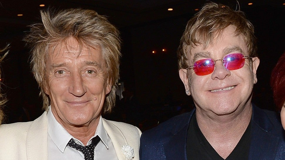 Rod Stewart calls out Elton John's retirement tour