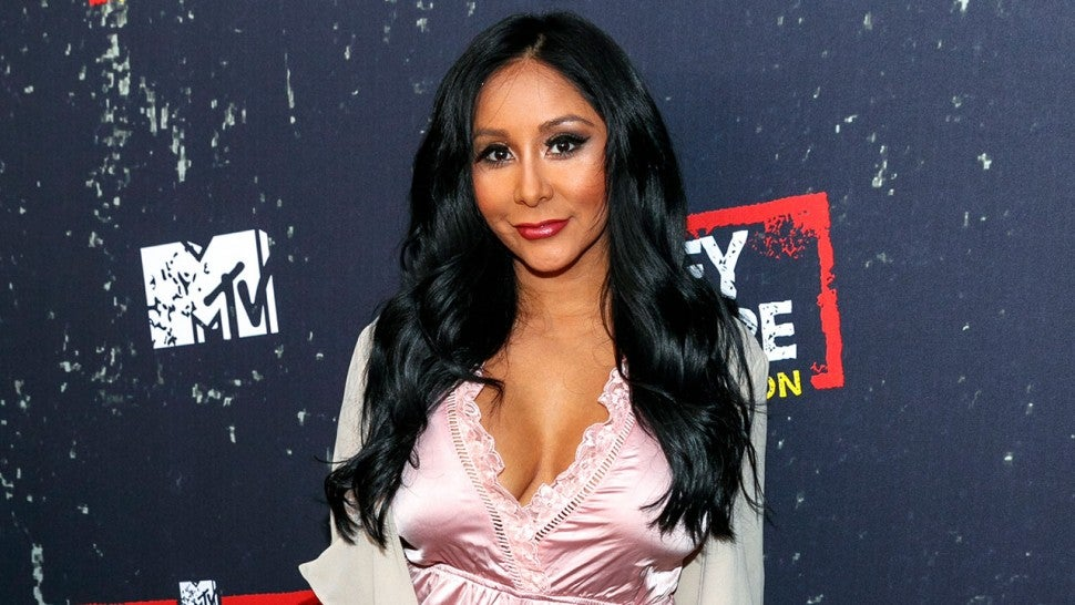 Snooki at Jersey Shore Family Vacation premiere
