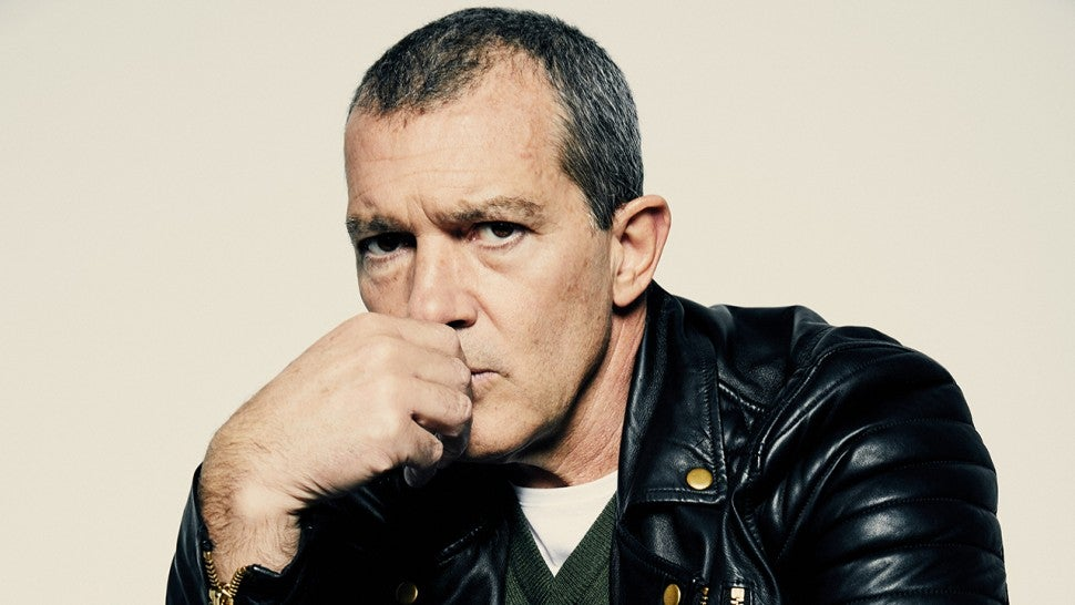 Antonio Banderas Reflects on 'Genius' and What Salma Hayek Told Him