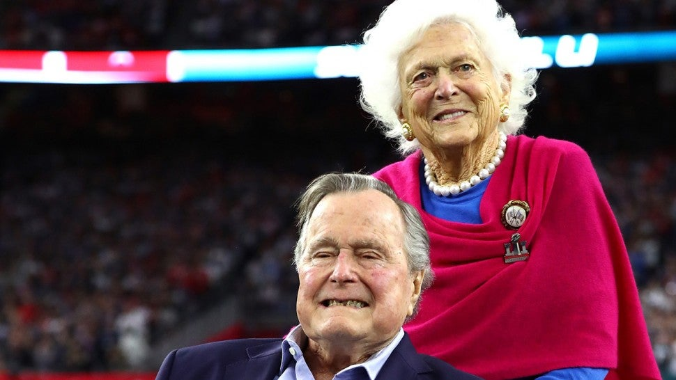 George H W Bush Shares Touching Tribute After Wife Barbara S Death